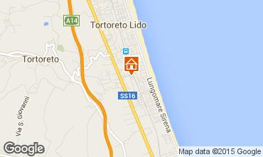 Map Tortoreto Apartment 42623