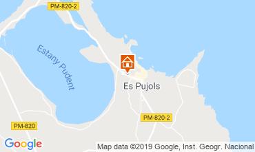 Map Es Pujols Apartment 119689