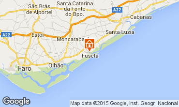 Map Tavira Apartment 58475