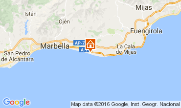 Map Marbella Apartment 66196
