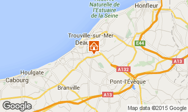 Map Deauville Mobile home 28922
