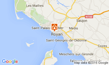 Map Royan Apartment 6855