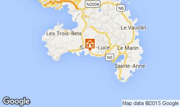 Map Sainte Luce Villa 69068