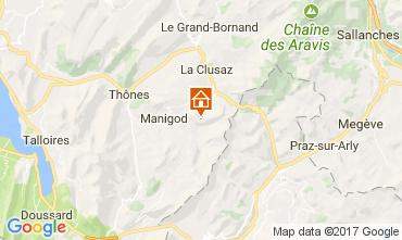 Map Manigod-Croix Fry/L'étale-Merdassier Apartment 111851