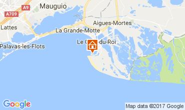 Map Port Camargue Studio apartment 5995