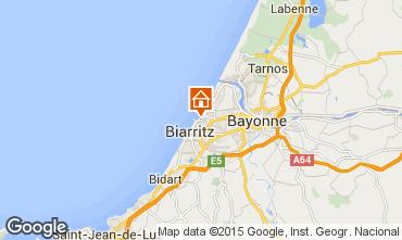 Map Biarritz Flat 77288