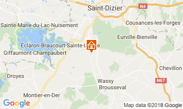 Map  Self-catering property 115332