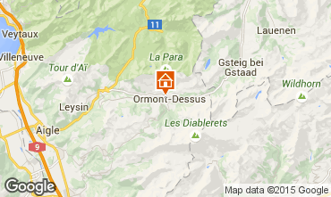 Map Les Diablerets Apartment 4732
