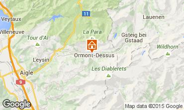 Map Les Diablerets Apartment 4732