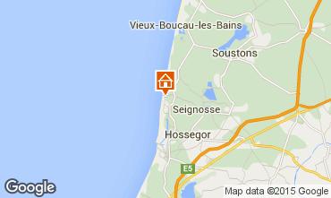 Map Hossegor Apartment 96784