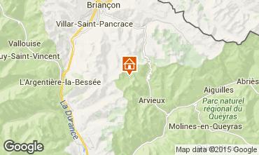 Map Arvieux en Queyras Chalet 79860