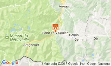Map Saint Lary Soulan Chalet 112169