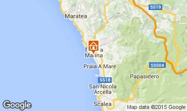 Map Marina di Tortora Studio apartment 69502
