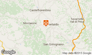 Map Florence Villa 92096