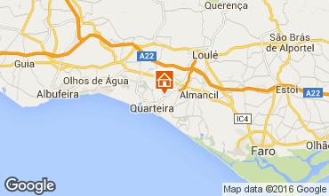 Map Quarteira Apartment 78233