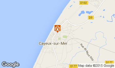 Map Cayeux-sur-Mer House 92242