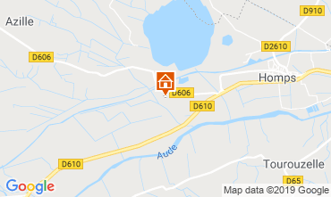 Map Azille Apartment 118373