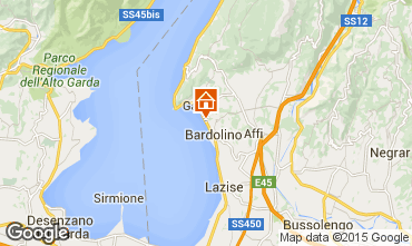 Map Bardolino Apartment 23270
