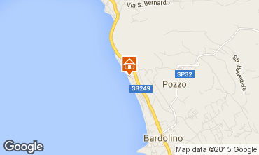 Map Bardolino Apartment 23270