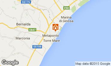 Map Metaponto Apartment 77103