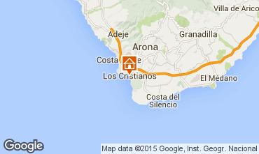 Map Los Cristianos Studio apartment 66110