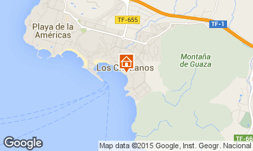 Map Los Cristianos Studio apartment 66110