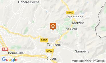Map Praz de Lys Sommand Apartment 118447