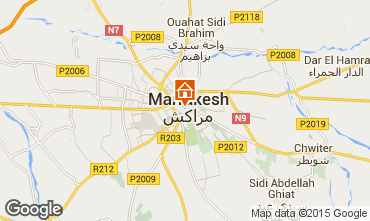 Map Marrakech House 40947