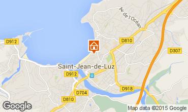 Map Saint Jean de Luz Apartment 89774