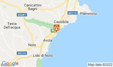 Map Avola Apartment 41910