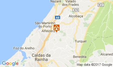 Map Alfeizerão Self-catering property 108636