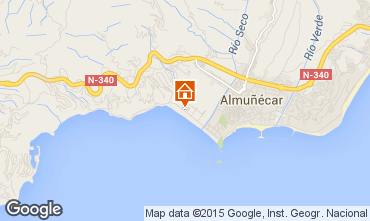 Map Almuñecar Apartment 98592