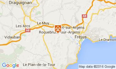 Map Fréjus Apartment 97115