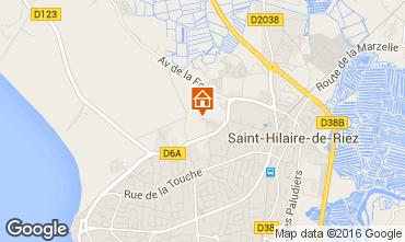 Map Saint Hilaire de Riez House 68573