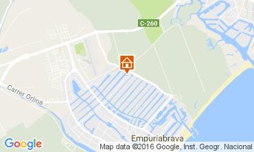 Map Empuriabrava House 106921