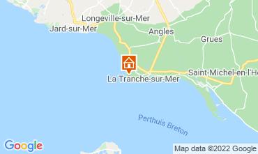 Map La Tranche-sur-mer Villa 7127