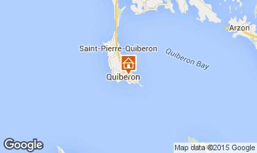 Map Quiberon Apartment 31206