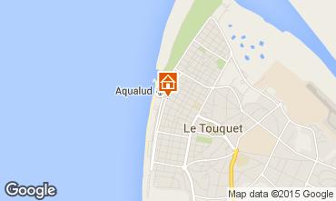 Map Le Touquet Apartment 40906